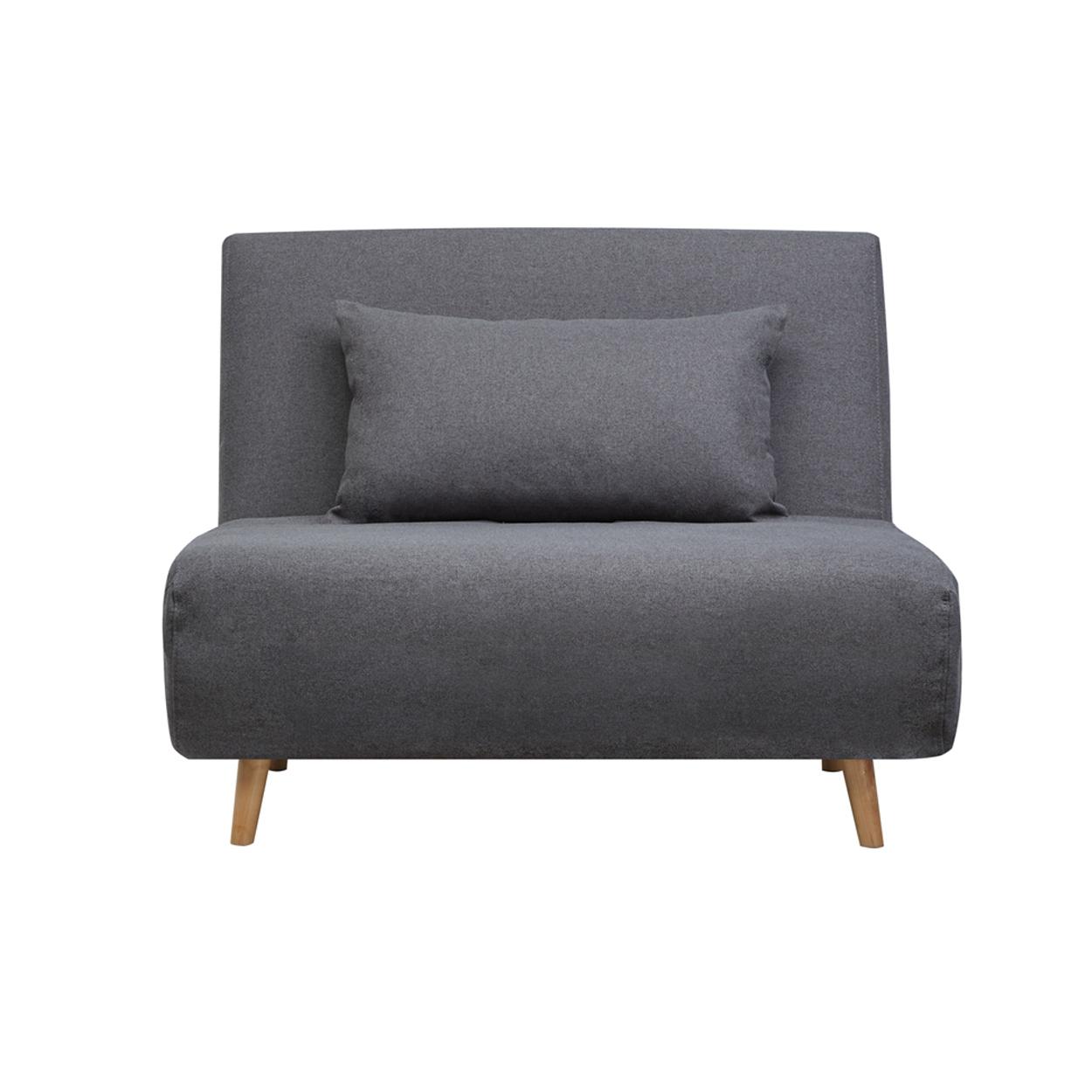Skien 1 Seater Sofabed Dark Gray