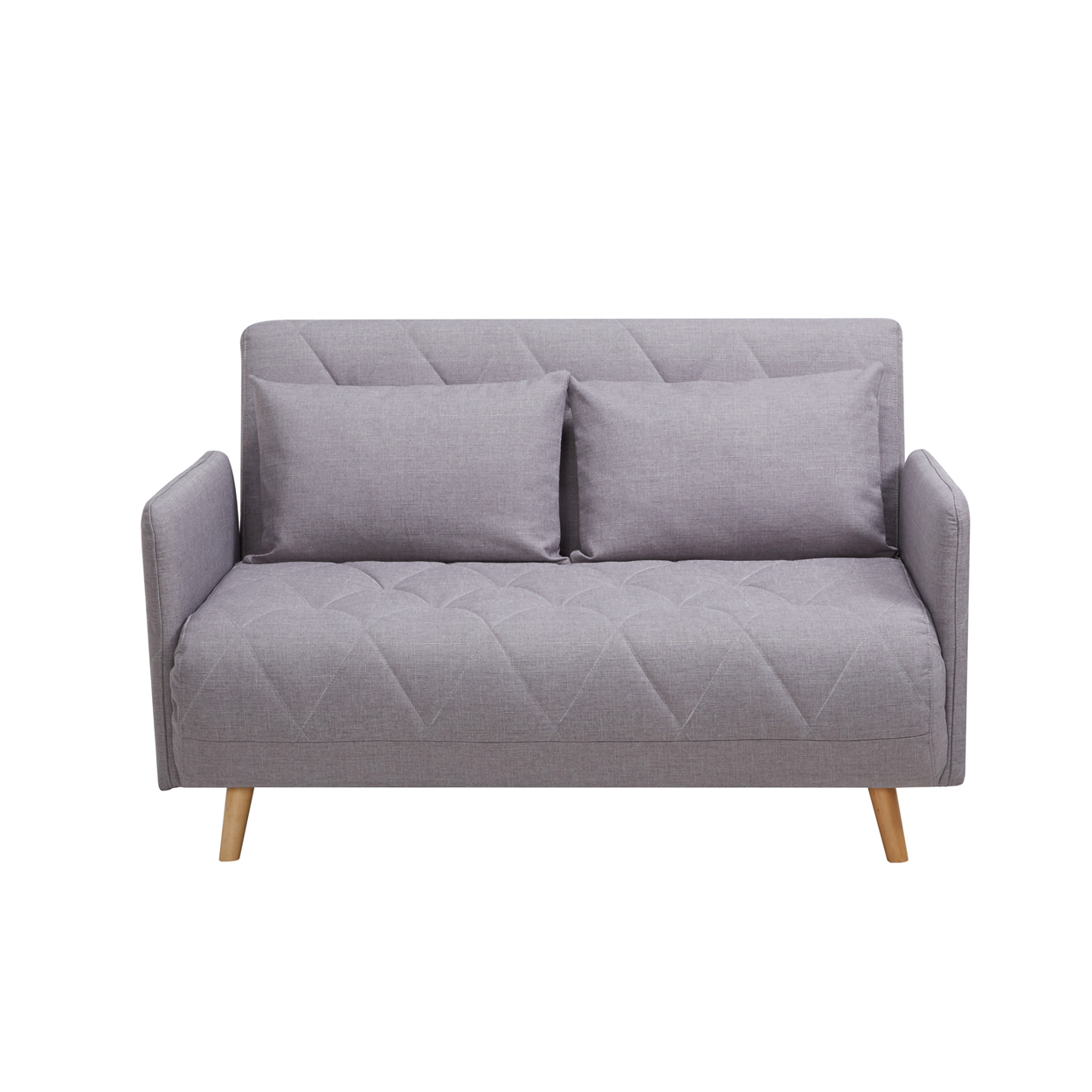 Arrived: Stellen 2-Seater Sofabed (Light Gray)