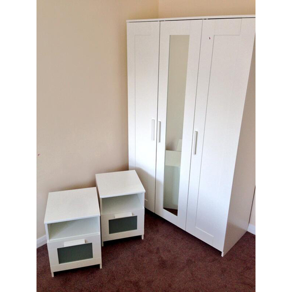 Furniture Source Philippines Brimnes Wardrobe 3 Doors