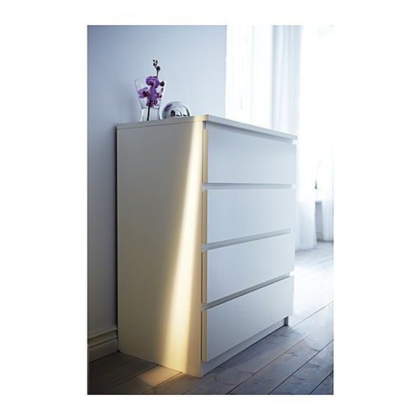 furniture source philippines malm chest of 4 drawers white