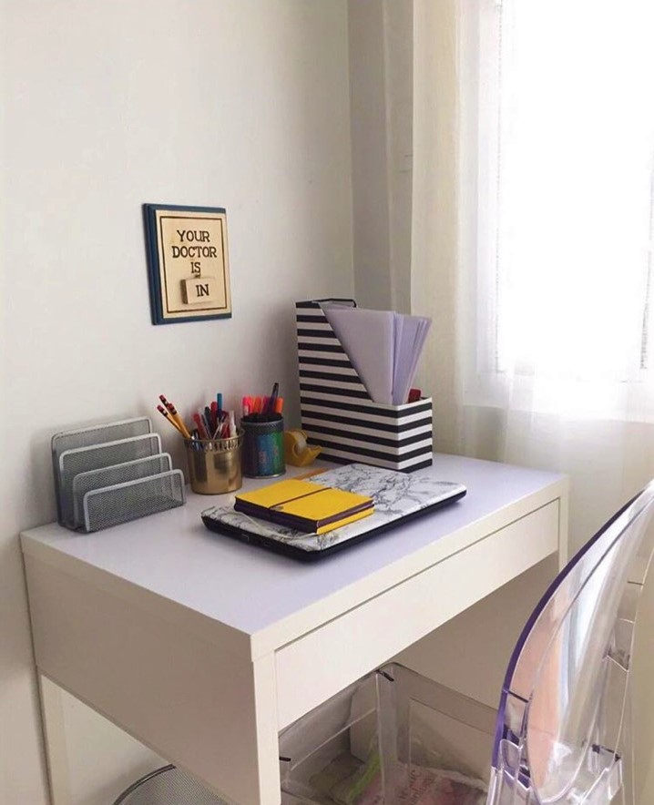 Furniture Source Philippines Micke Personal Desk Ghost