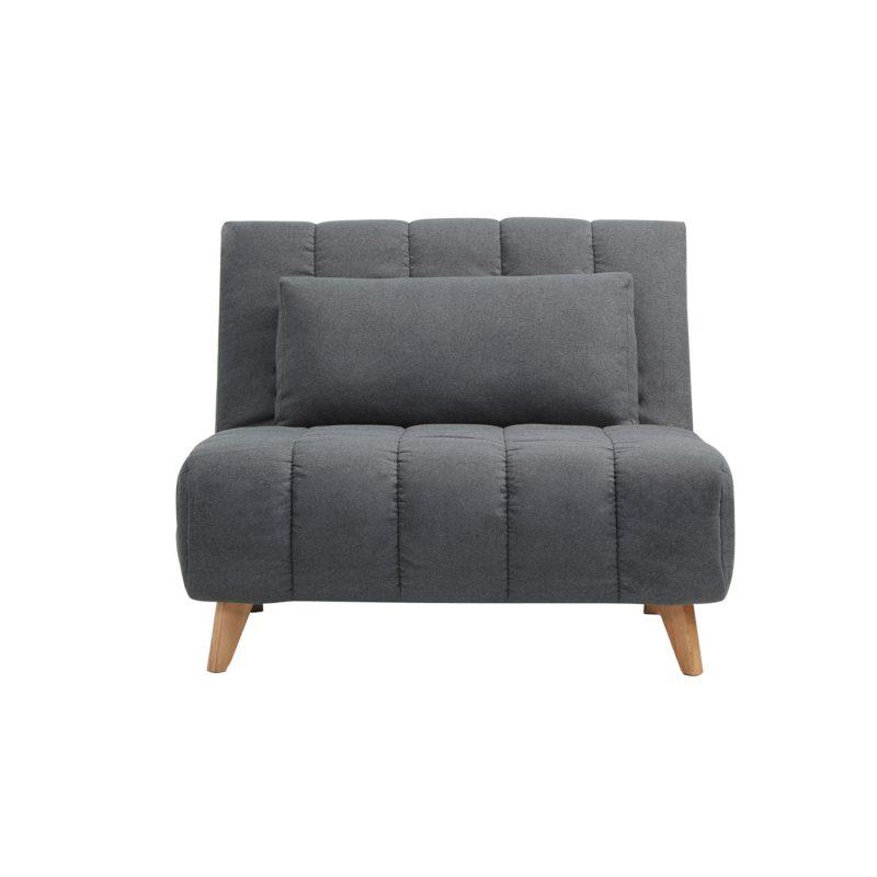 Franke 1 Seater Sofabed Dark Gray