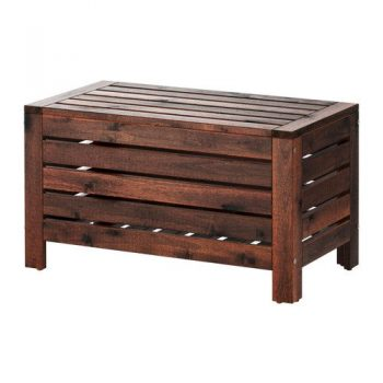 Furniture Source Philippines Applaro Outdoor Storage Bench Brown Stained