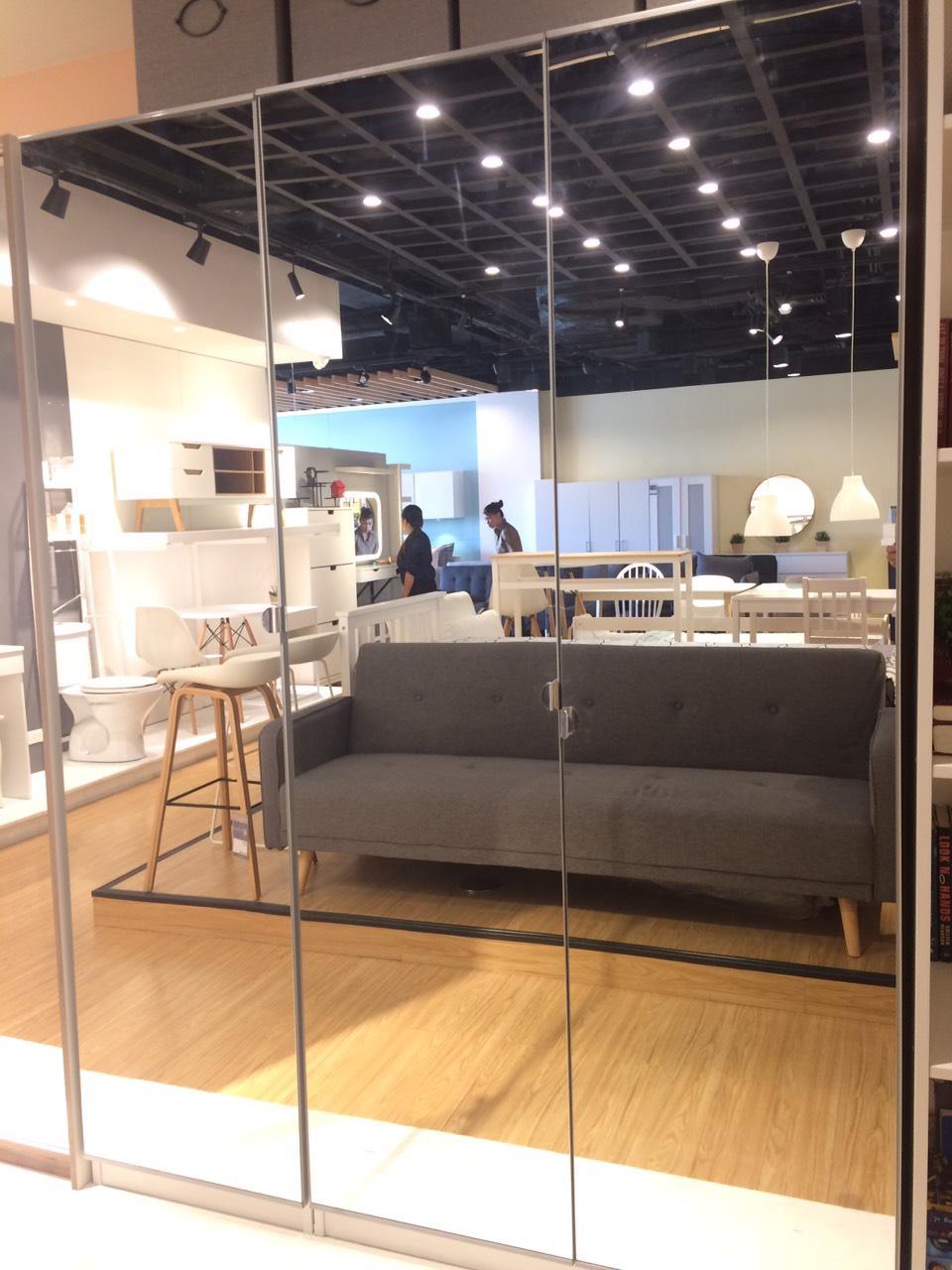 Furniture Source Philippines Pax Vikedal 2 Door Mirror