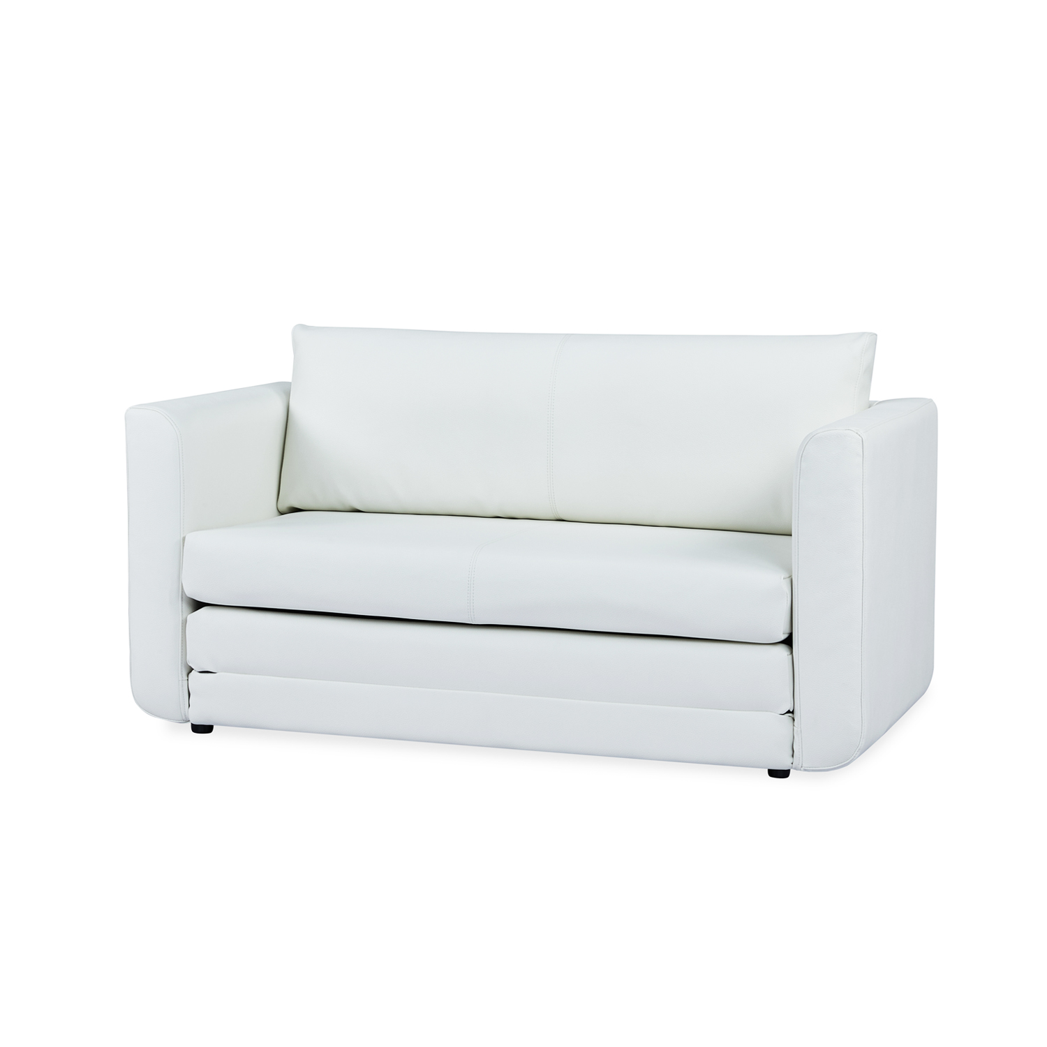 Furniture Source Philippines | Sandnes Sofabed (White Faux Leather)