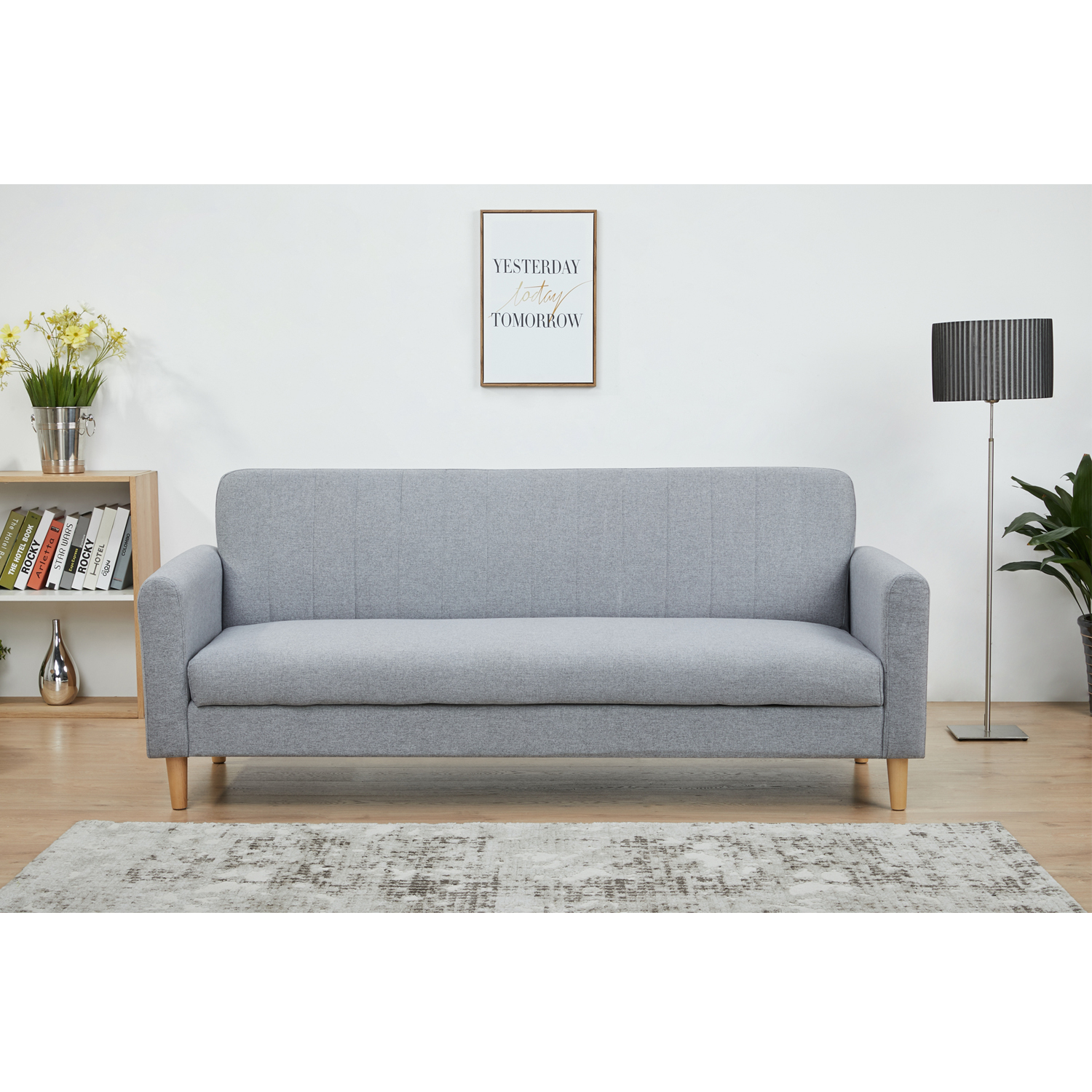 Picture of: Furniture Source Philippines Falhensberg Sofabed Light Gray