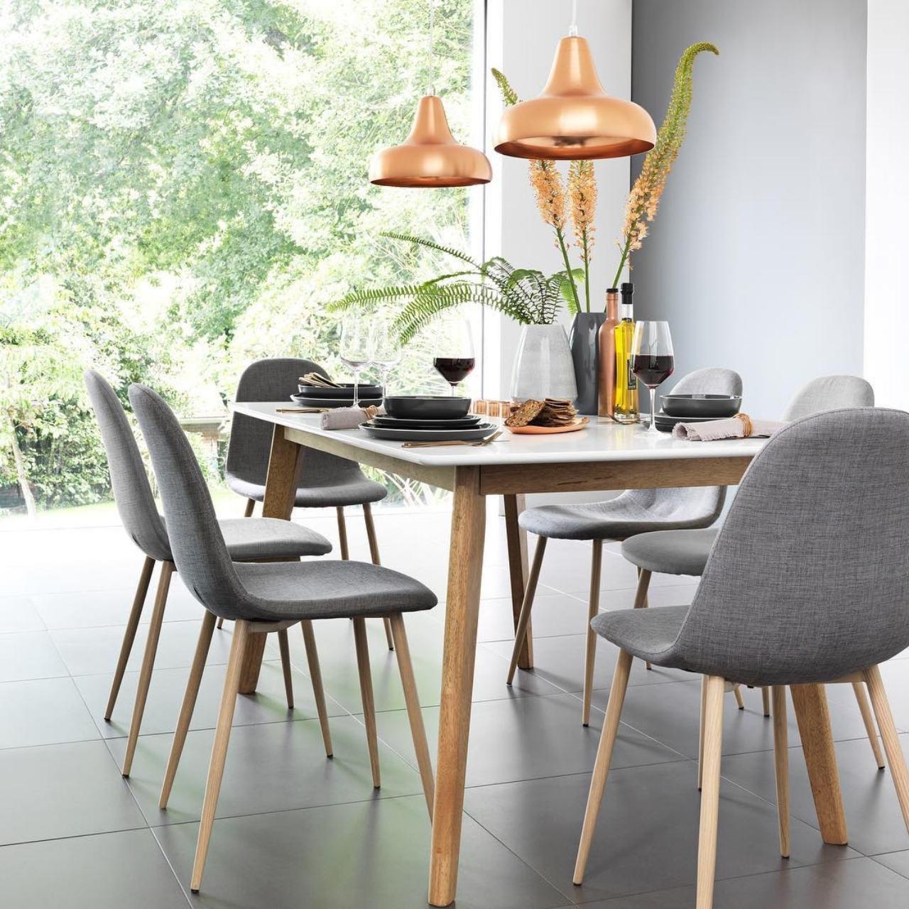 Furniture Source Philippines Nordic Dining Set 160 Cm