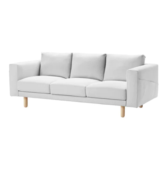 Furniture Source Philippines | Norsborg 3 Seater Sofa (White-Birch)